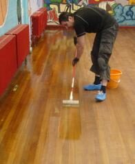 Gap filling & Finishing services provided by trained experts in Floor Sanding South Woodford